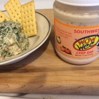 Southwest Spinach Dip Recipe